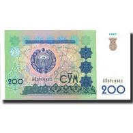 Billet, Uzbekistan, 200 Sum, 1997, 1997, KM:80, NEUF - Ouzbékistan