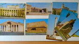 D158094 Mongolia Ulan- Bator  Lot Of 9 Postcards - Mongolia