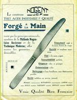 """NOGENT-EN-BASSIGNY  (52) : """" COUTELLERIE  CAPUT J-C-F """"  Papier Cristal - 1900 – 1949"""