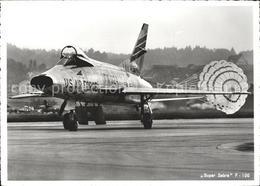71726396 Flugzeuge Militaria U.S. Air Force Super Sabra F-100 Airplanes Avions - Flugwesen