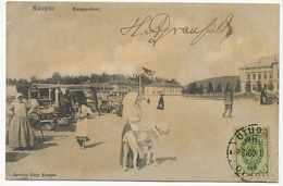 Kuopio Kauppatori Postally Used To Cienfuegos Cuba - Finlande