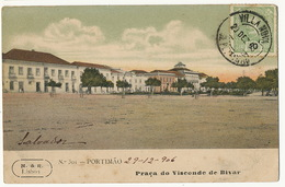 Portimao Praça Do Visconde Da Bivar - Portugal