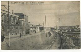 Mattosinhos Rua Da Praia Lexoes Tren Train - Porto