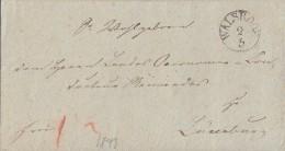 Brief K1 Walsrode 2.5.1843 Gel. Nach Lüneburg - Deutschland
