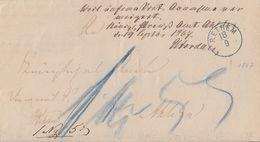 Brief Blauer K1 Rethem Gel Nach Ahlden Annahme Verweigert Zurück Ansehen !!!!!!!!!!!!!! - Hannover