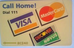 221CSVA Call Home EC$40 - St. Vincent & The Grenadines