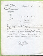 "LANGRES  (52) : "" VINS & SPIRITUEUX - CARMANTRAND ""  1901 - 1800 – 1899"