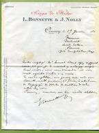 """COUSSEY  (88) : """" SCIAGES DE HÊTRES - BONNETTE & NOLLY """"  1916 - France"""