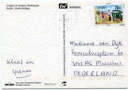 Aruba - Postcard - Carte Postale - Stamps
