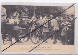Tour De France 1910 - METZ (57) Le Comte Zeppelin Attendant Les Coureurs(voir Cachet Au Dos:MILITARISCHE....) - Metz