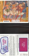 15500TER) LOTTERIA ITALIA 2003 ARANCIONE NON GRATTATO LEGGERA PIEGA CENTRALE - Biglietti Della Lotteria