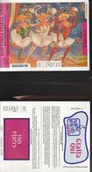 15500TER) LOTTERIA ITALIA 2003 FUCSIA NON GRATTATO LEGGERA PIEGA CENTRALE - Biglietti Della Lotteria