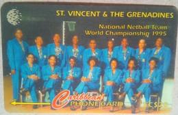 199SVDB National Netball Team EC$20 - St. Vincent & Die Grenadinen