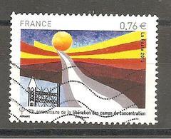 FRANCE 2015 N° YT 4948 Libération Des Camps Oblitéré - Used Stamps