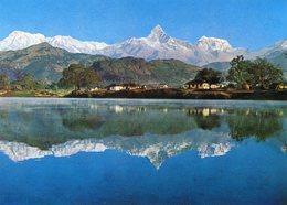 Nepal - Mount Machhapuchhare And Phewa Tal - Nepal