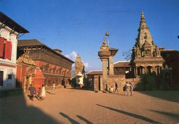 Nepal - Bhaktapur Durbar Square - Nepal
