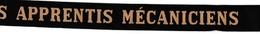 Ruban Légendé école Apprentis Mécaniciens - Saint-Mandrier - Arpètes - école Du Crime - Marine Navy - Uniformen