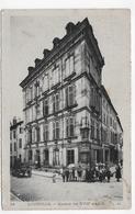 (RECTO / VERSO) LUNEVILLE EN 1921 - N° 24 - MAISON DU XVIIIe SIECLE AVEC PERSONNAGES - CPA VOYAGEE - Luneville