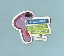 2 Magnets Publicitaires Je Me Recycle - Advertising