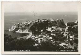 Real Photo Ulcinj Panorama Postally Used Dubrovnik - Montenegro