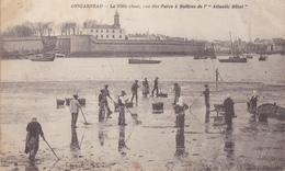 CONCARNEAU  -  LA VILLE CLOSE  VUE DU PARC A HUITRES DE L ATLANTIC HOTEL - Concarneau