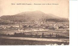 (88) Vosges - CPA - Saint Die - Panorama Vers Le Mont D'Ormont - Saint Die
