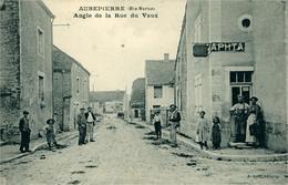 AUBEPIERRE Angle De La Rue De Vaux - Francia