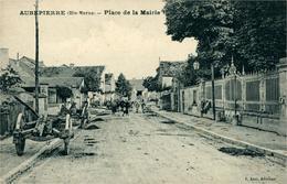 AUBEPIERRE Place De La Mairie - Francia
