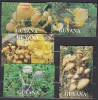 Guyana 1993 Mi Bl 269-273 CTO (cat. Val 15.00) - Guyana (1966-...)