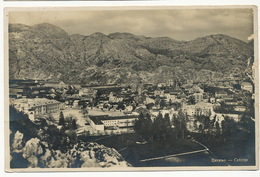 Real Photo Cetinje Postally Used - Montenegro