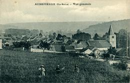 AUBEPIERRE Vue Générale (enfants Et Vaches) - Altri Comuni