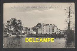 DD / ECOLE MILITAIRE / BREST LA VILLENEUVE / ETABLISSEMENT DES PUPILLES DE LA MARINE / CIRCULÉE EN 1915 - Barracks