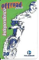Télécarte Brésil  Moto Trial Off-road 2000 Sport - Circuit Au Verso  (D 303) - Motos
