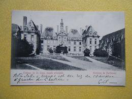 SAINT LOUP LAMAIRE. Le Château De Saint Loup Sur Thouet. - Saint Loup Lamaire
