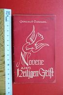 Novene Zum Heiligen Geist, Gertrud Dorner, 1954, Kleines Heft Kirche Religion - Religion &  Esoterik
