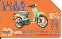 Télécarte Italie Italia  Moto Scooter HONDA SKY50 Motor Phonecard  (D 310) - Motos
