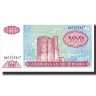 Billet, Azerbaïdjan, 100 Manat, Undated (1993), Undated, KM:18b, NEUF - Azerbaïdjan