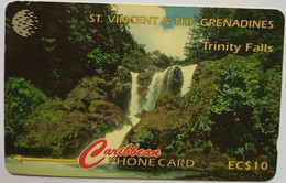 13CSVA Trinity Falls EC$10 - St. Vincent & Die Grenadinen