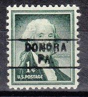 USA Precancel Vorausentwertung Preo, Locals Pennsylvania, Donora 745 - Vereinigte Staaten