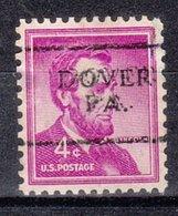USA Precancel Vorausentwertung Preo, Locals Pennsylvania, Dover 701 - Vereinigte Staaten