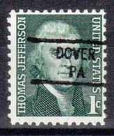 USA Precancel Vorausentwertung Preo, Locals Pennsylvania, Dover 841 - Vereinigte Staaten