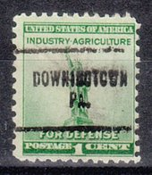 USA Precancel Vorausentwertung Preo, Locals Pennsylvania, Downingtown 704 - Vereinigte Staaten