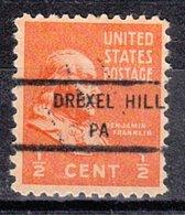 USA Precancel Vorausentwertung Preo, Locals Pennsylvania, Drexel Hill 846 - Vereinigte Staaten