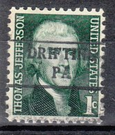 USA Precancel Vorausentwertung Preo, Locals Pennsylvania, Drifting 882 - Vereinigte Staaten