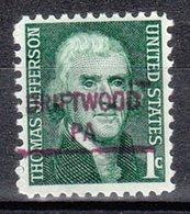 USA Precancel Vorausentwertung Preo, Locals Pennsylvania, Driftwood 841 - Vereinigte Staaten