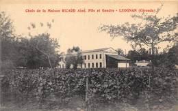 33-LEOGNAN- CHAIS DE LA MAISON RICARD AINE - FILS ET GENDRE - France