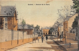 ¤¤   -  GUERET   -  Avenue De La Gare  -  Carte Toilée  -  ¤¤ - Guéret