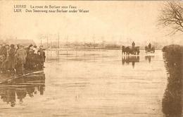 LIERRE / LIER   ---  La Route De Berlaer Sous L'eau - Den Steenweg Narr Berlaer Onder Water - Lier