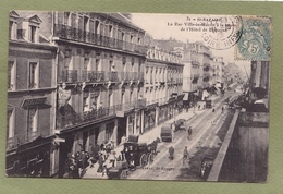 ST NAZAIRE  RUE VILLE MATIN  HOTEL DE BRETAGNE - Saint Nazaire