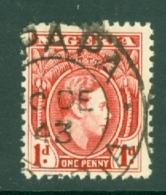 Nigeria: 1938/51   KGVI    SG50a    1d   Rose-red   Used - Nigeria (...-1960)